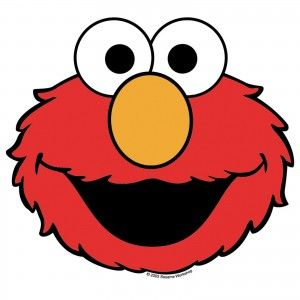Elmo Face Clipart at GetDrawings.| Free for personal use Elmo