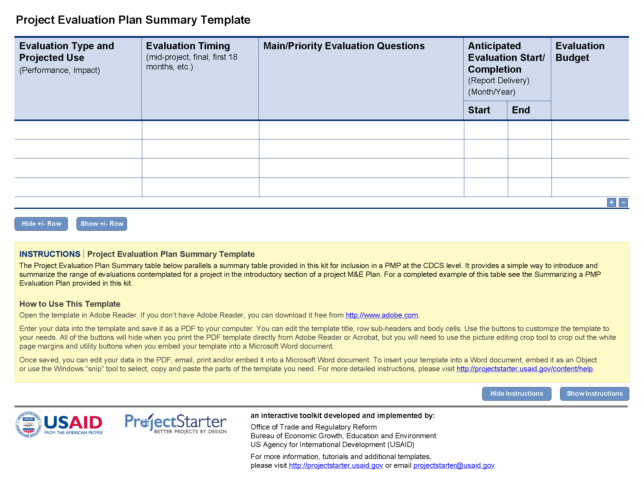 Evaluation Plan | Better Evaluation