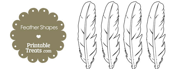 Indian Headdress Feather Template Indian Feather Template #DRAW