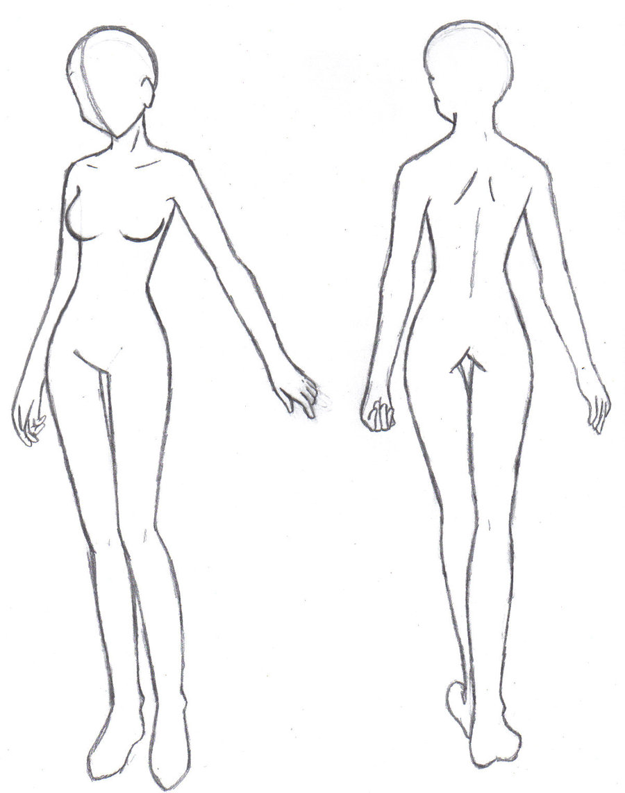 Female Figure Drawing Templates at GetDrawings.| Free for