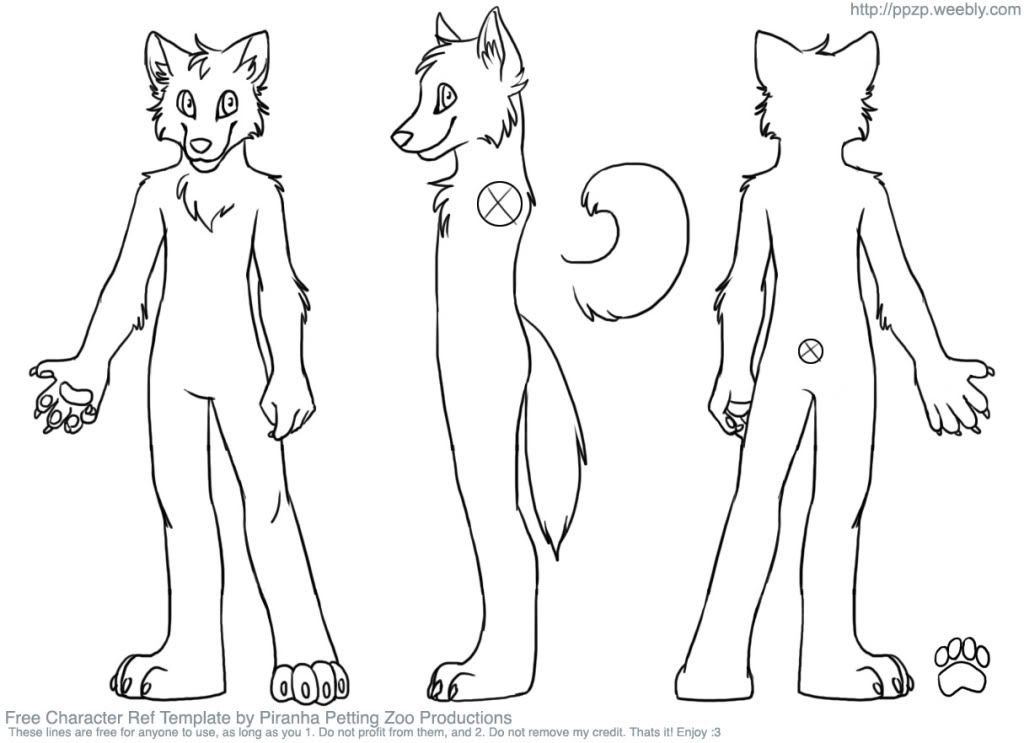 Need fursuit character reference sheet? Read here. fursuits