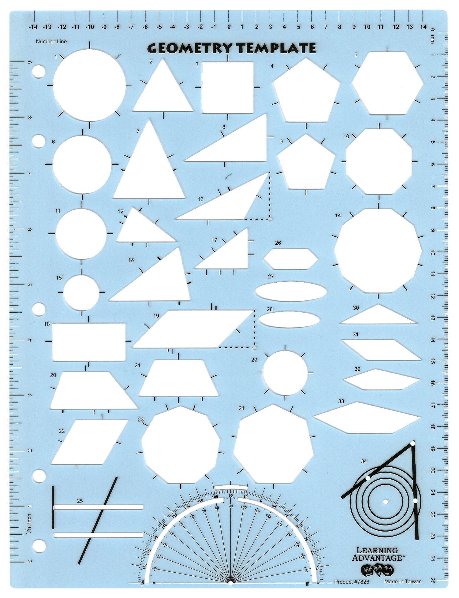 Geometry Template (#7826)