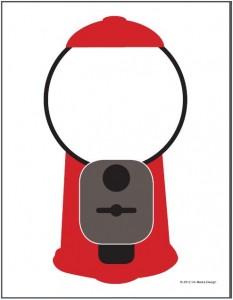 Gumball Machine for reward chart | OT room/bulletin boards