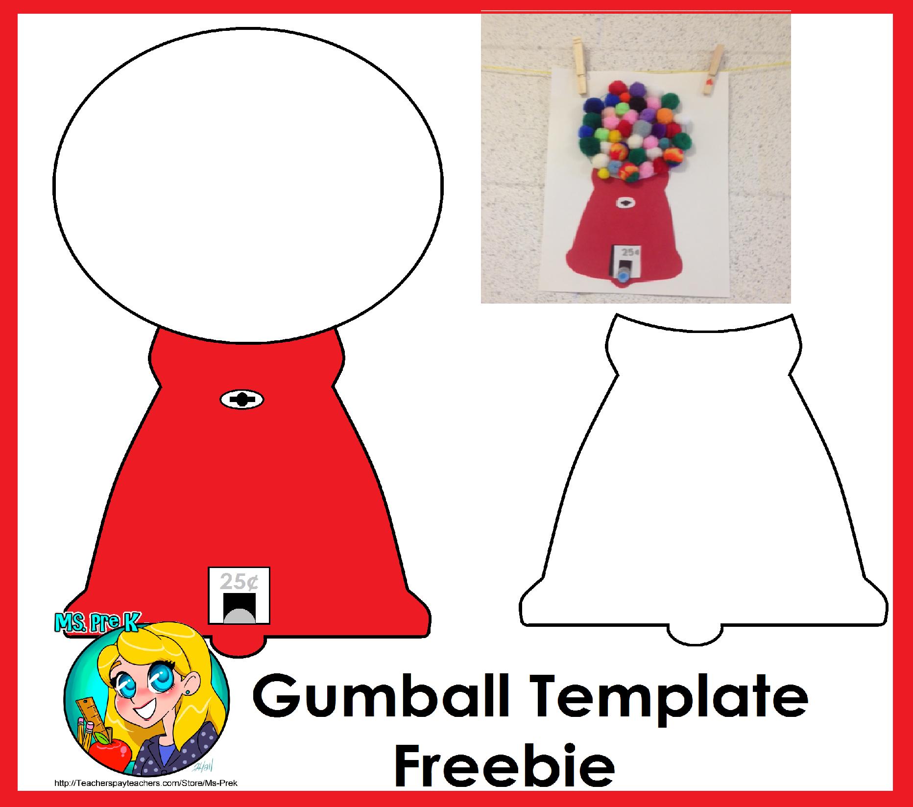 Bubble Gum Machine Coloring Page Bubble Gum Machine Coloring Page