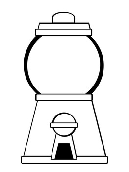 Free printable template for gumball machine. I am using this for