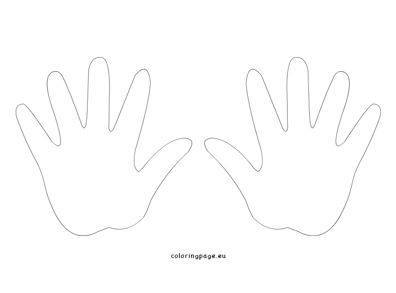 hand templates printable April.onthemarch.co