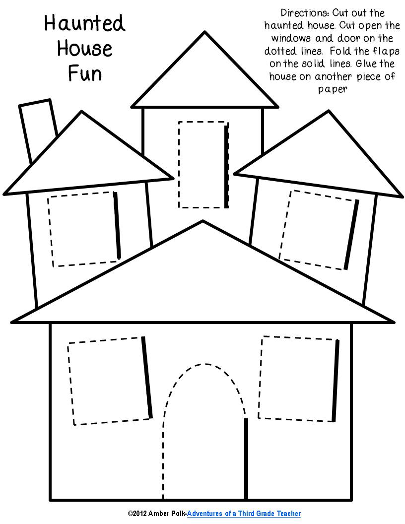 Haunted House Template | Clipart Panda Free Clipart Images
