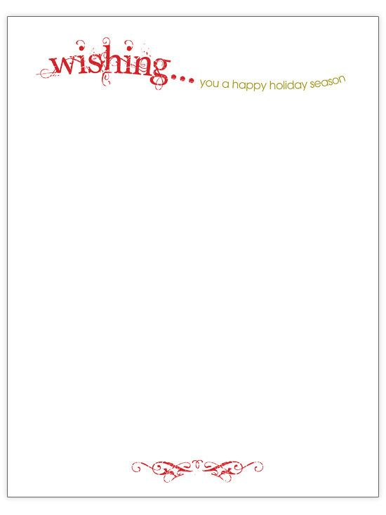 holiday letter template microsoft word holiday letters templates