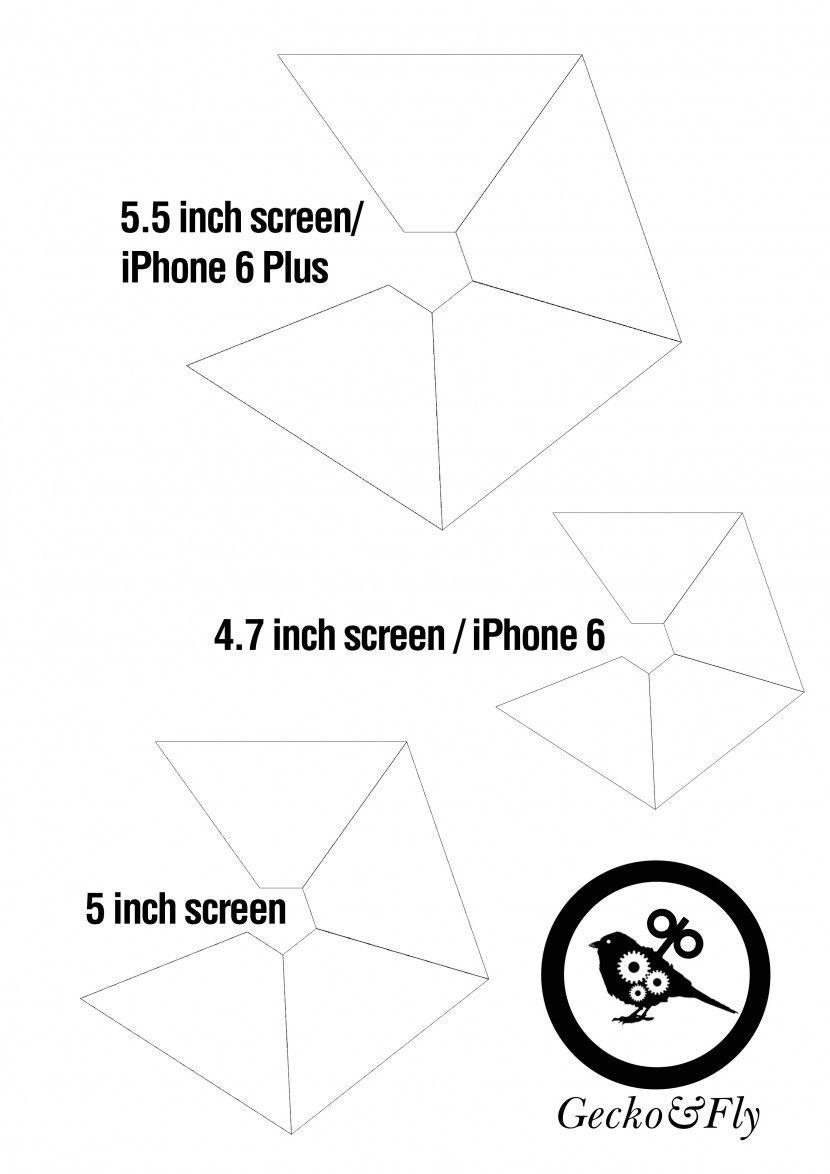 How to Make a 3D Hologram Pyramid for Your Smartphone | Custom