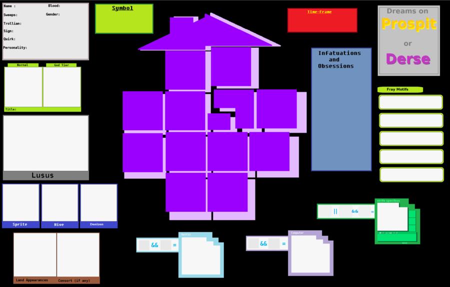 Blank Fantroll Information Chart by Cheezit1x1 on DeviantArt