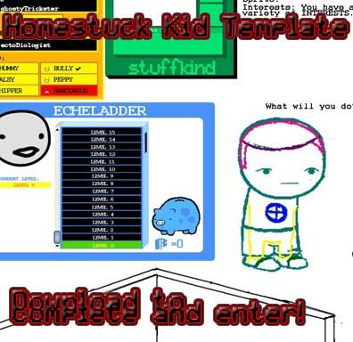 Homestuck Kid Template by Mattox33 on DeviantArt