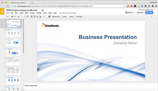 How to Edit PowerPoint Templates in Google Slides SlideModel