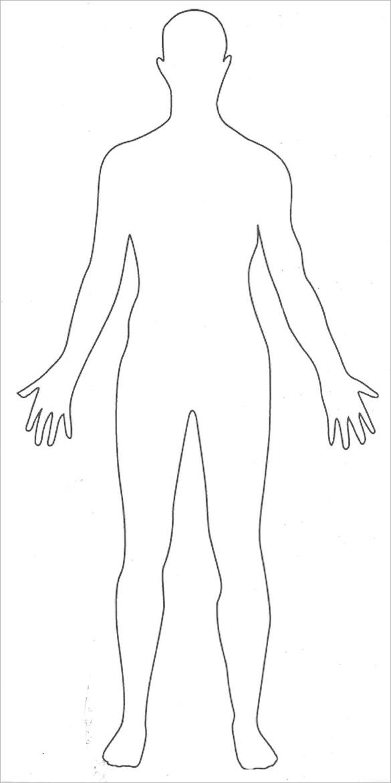 21+Body Outline Templates PDF, DOC   Free & Premium Templates