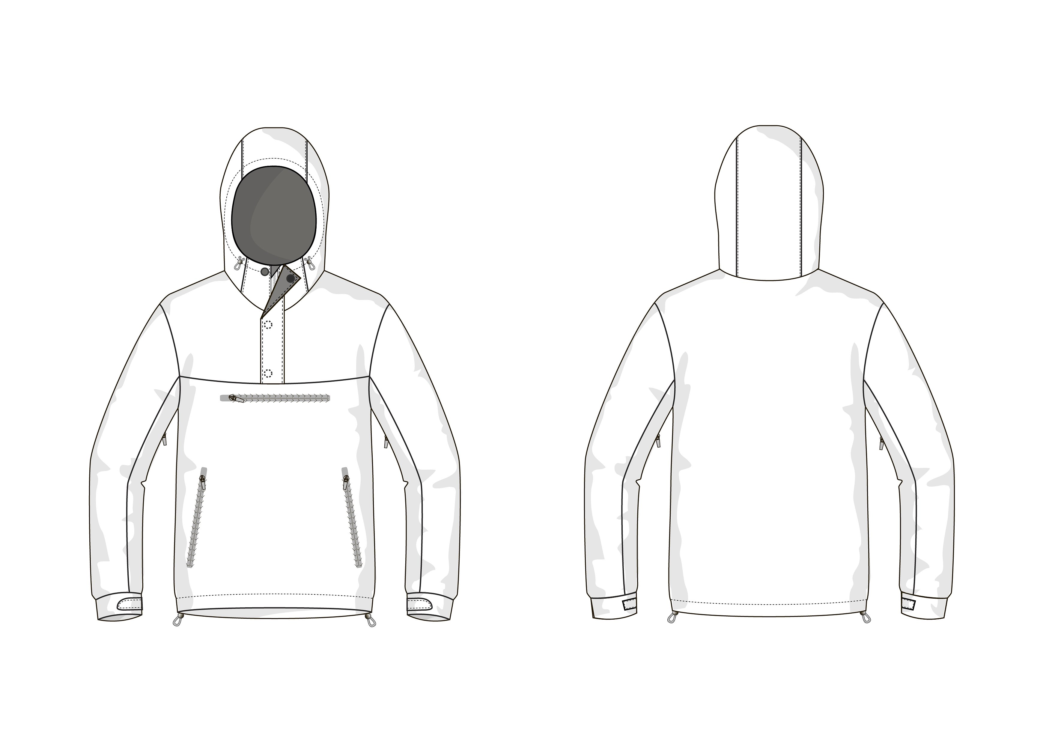 blank jacket template April.onthemarch.co