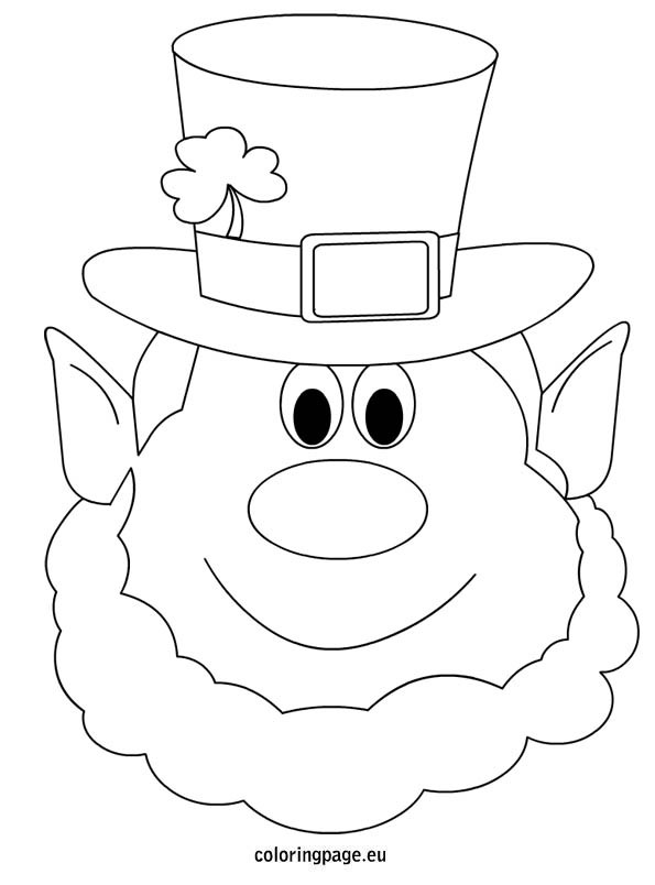 Tactueux image with printable leprechaun templates