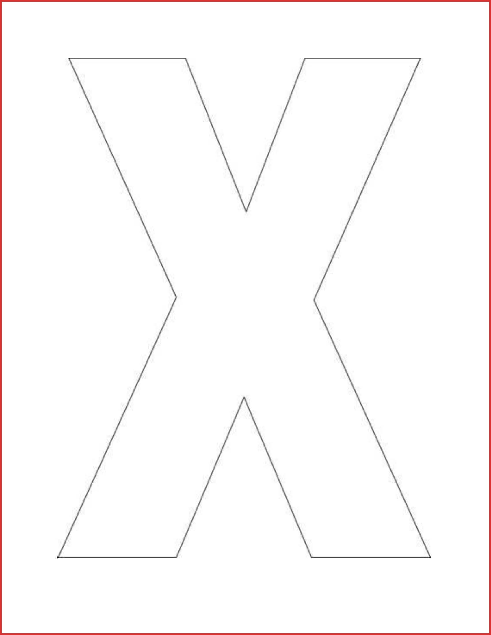 Preschool ideas for the letter x#663262 Myscres