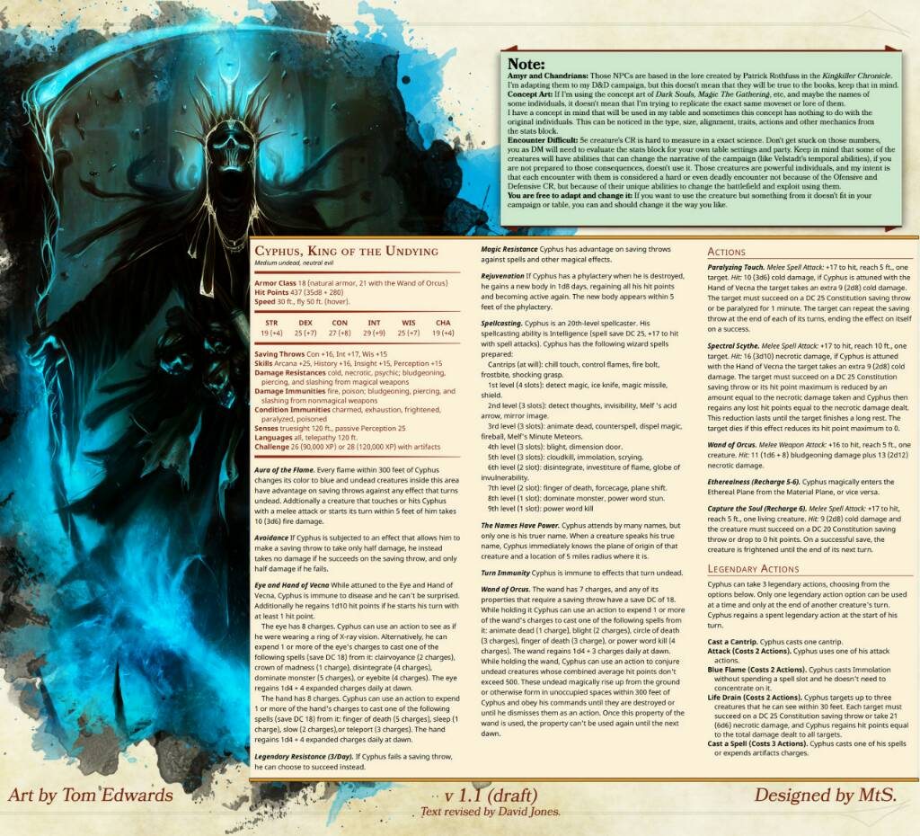 5E Lich Phylactery Page 3