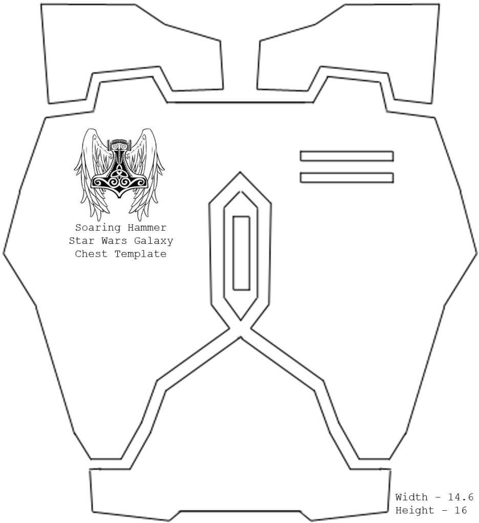 Mandalorian Armor Templates. Ondar S Late Era Crusader Wip within