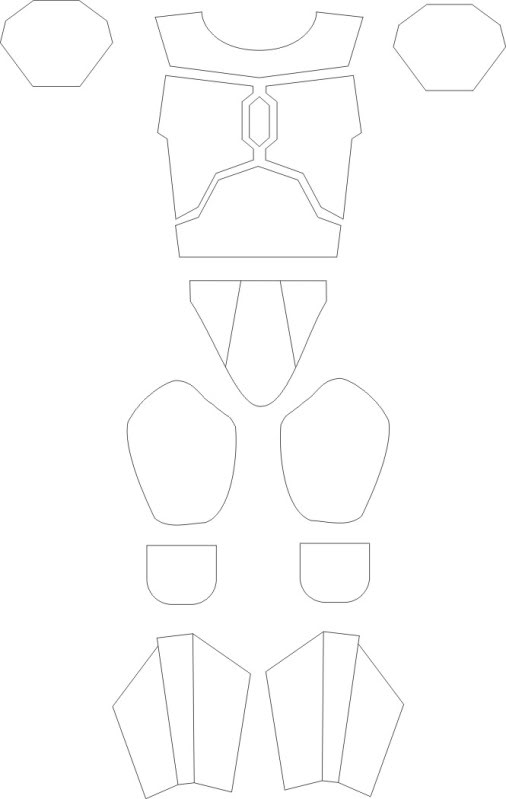 30 Images of Boba Fett Mandalorian Armor Template | geldfritz.net