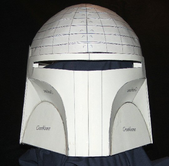 Boba Fett Helmet Blueprints/Templates   Boba Fett Costume and Prop