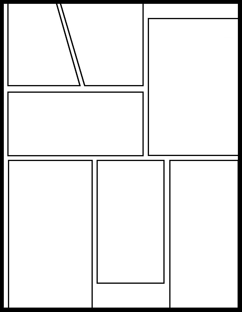 Manga Template 64 by Comic Templates on DeviantArt
