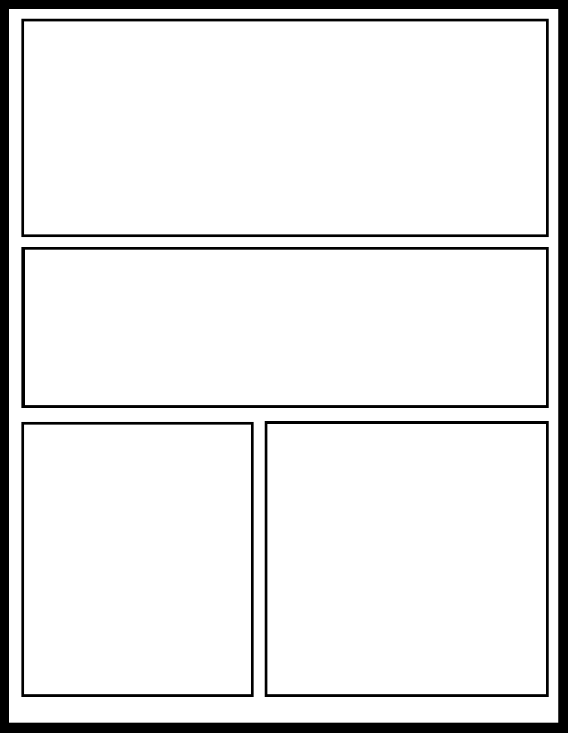 Manga Template 52 by Comic Templates on DeviantArt