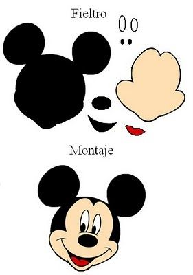 mickey mouse face template – demonow.info