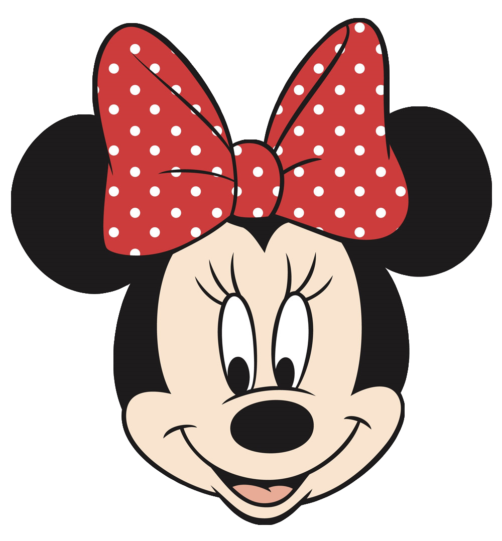 Minnie Mouse Face Silhouette at GetDrawings.| Free for