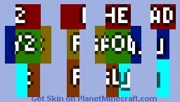 Minecraft 1.8 skin template Minecraft Skin