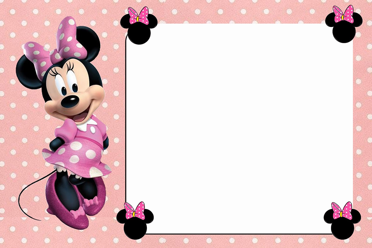 free minnie mouse invitation templates April.onthemarch.co
