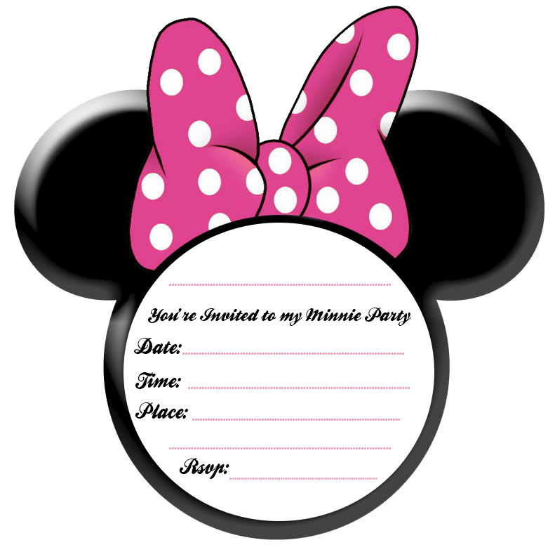 minnie mouse invitations templates April.onthemarch.co