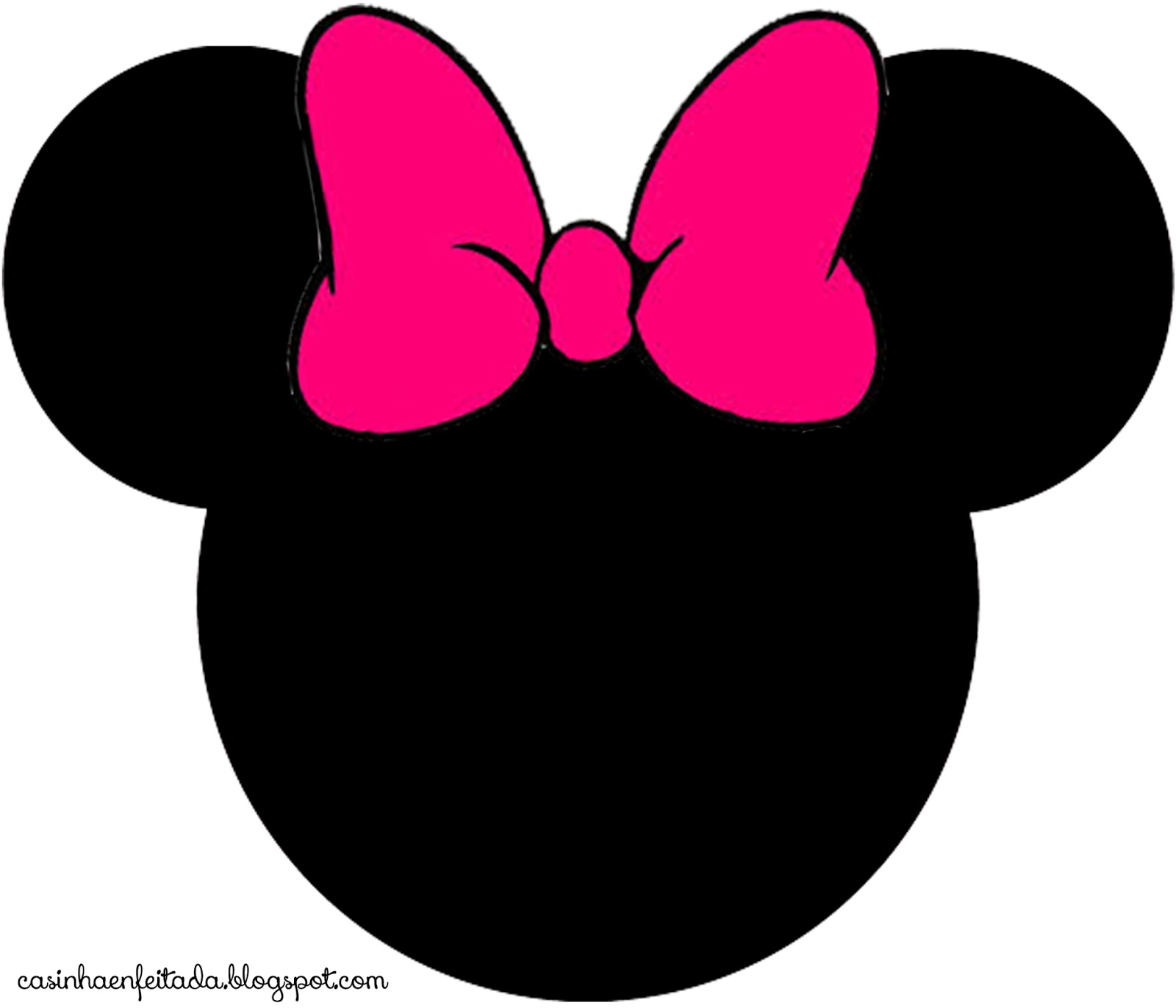 mickey mouse large printable cutouts | Can you guess where we are