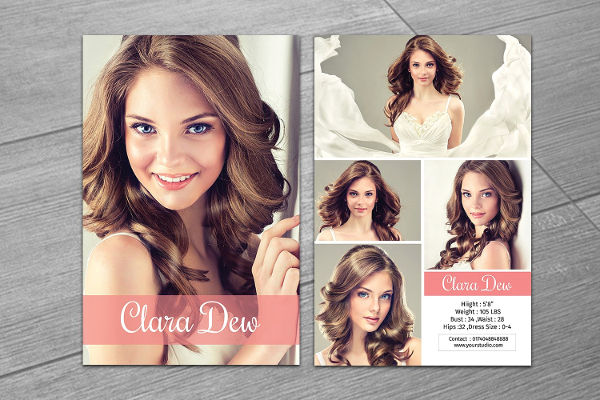 9+ Comp Card Templates Free Sample, Example, Format Download