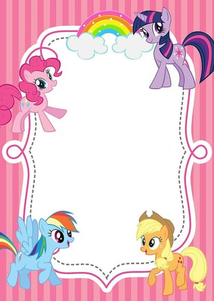 My Little Pony Drawing Template at GetDrawings.| Free for