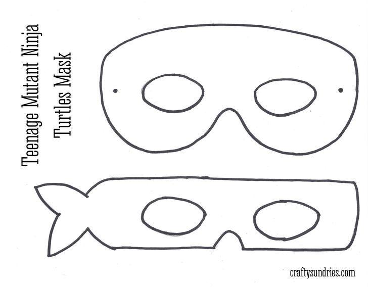 Printable Teenage Mutant Ninja Turtle Mask Template – Google