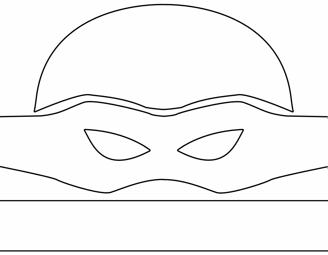 photo about Printable Ninja Turtle Mask Template referred to as Ninja Turtle Masks Template