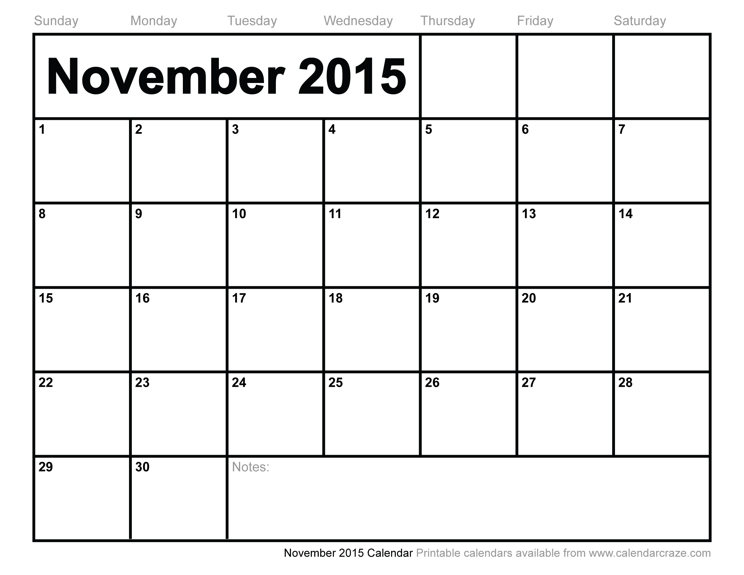 free november 2015 calendar template April.onthemarch.co