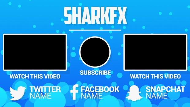 3K Special Outro Template 14/Nov/2016 SharkFX