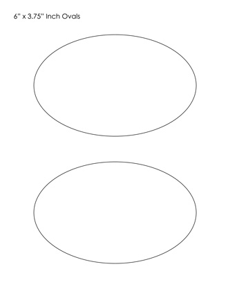 oval template | Math | Pinterest | Template, Shapes and Craft