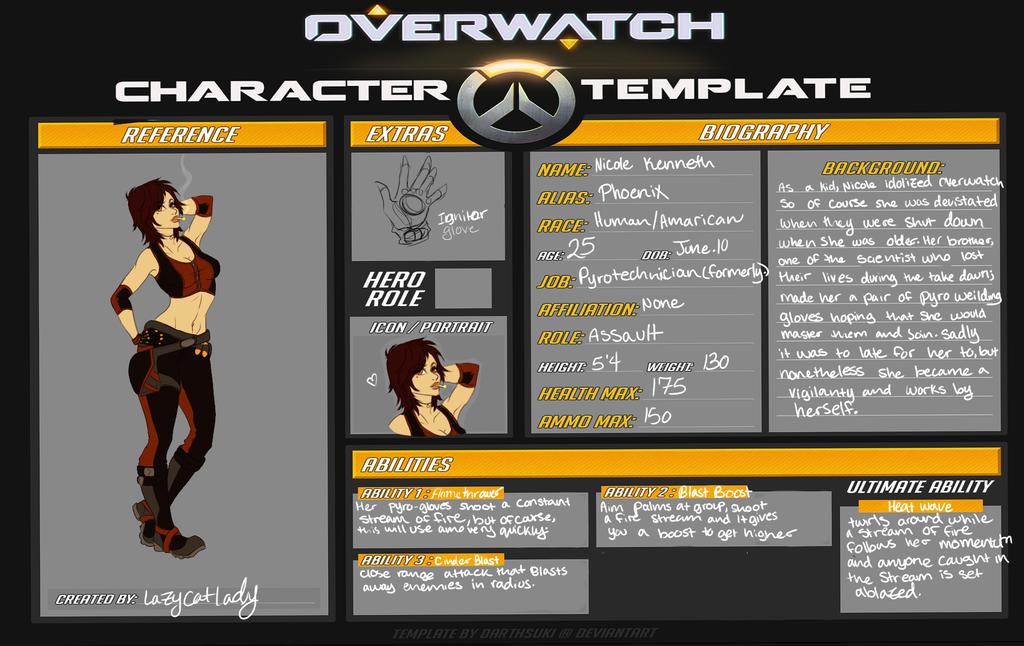 Overwatch OC by LazyCatLady on DeviantArt