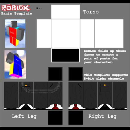 pants template Roblox