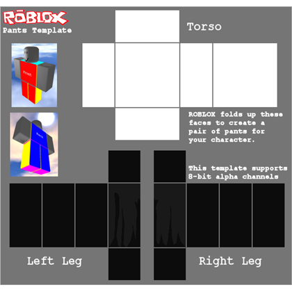 Army pants template Roblox