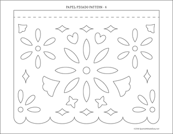 picture regarding Papel Picado Printable identify Papel Picado Template