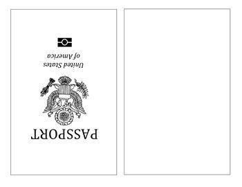 Printable Passport Template Kids … …   Muut kor…