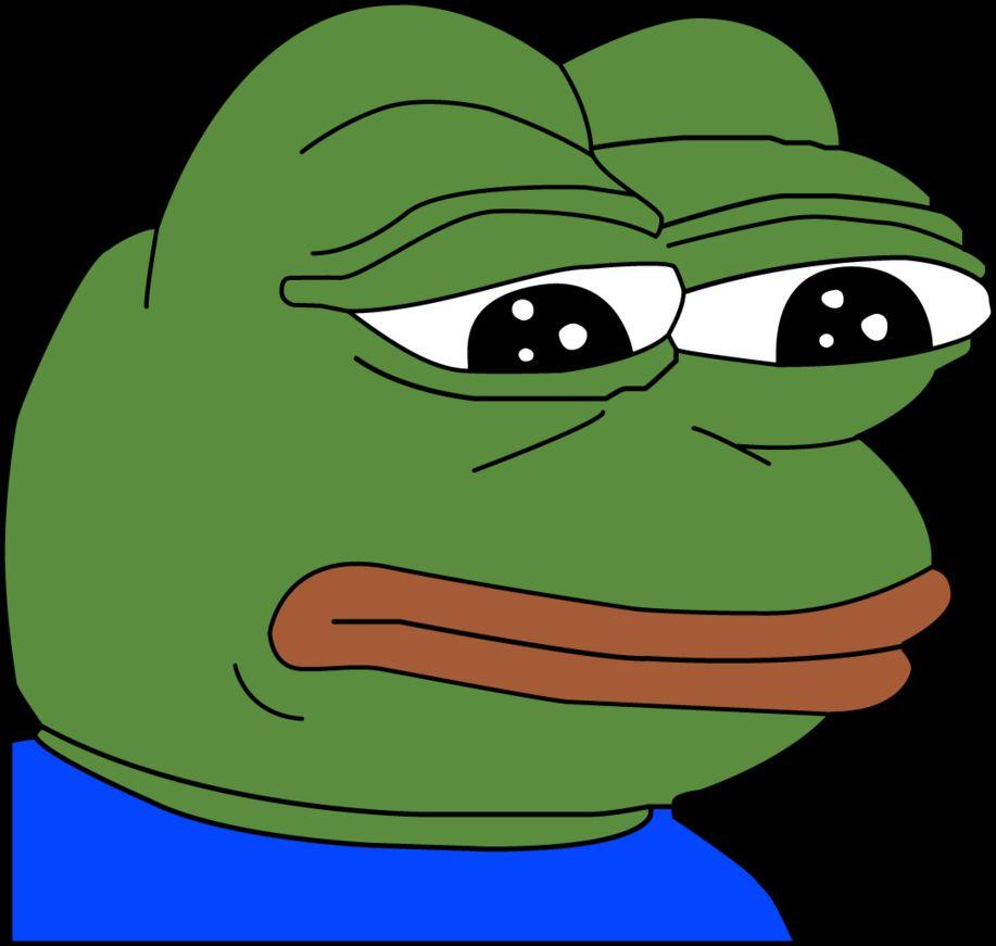 Sad Pepe Blank Template Imgflip