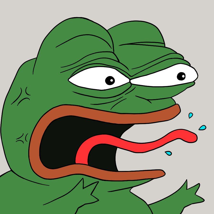 Angry Pepe Blank Template Imgflip