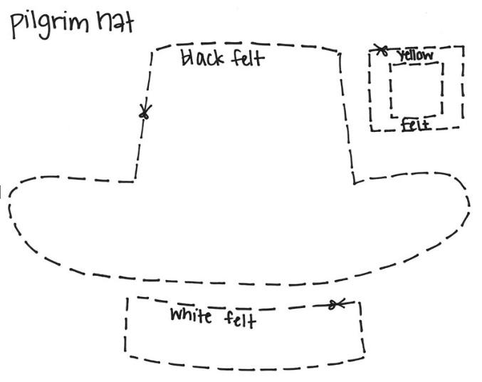 Pilgrim Hat Template | merrychristmaswishes.info