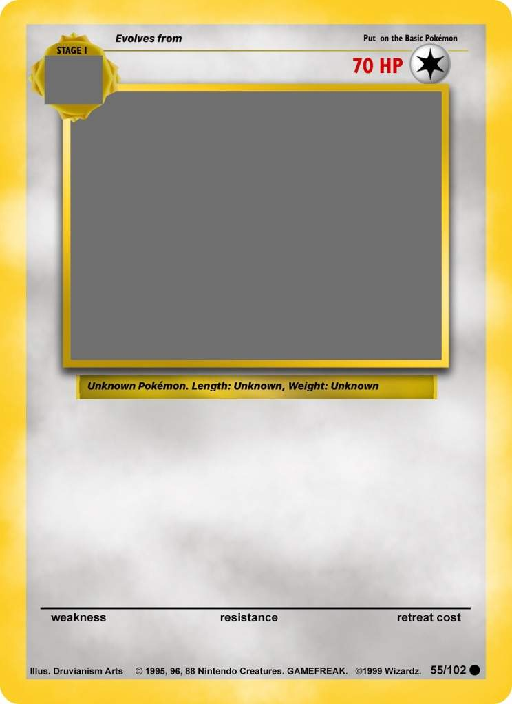 Pokemon card template | Pokéverse™ Amino