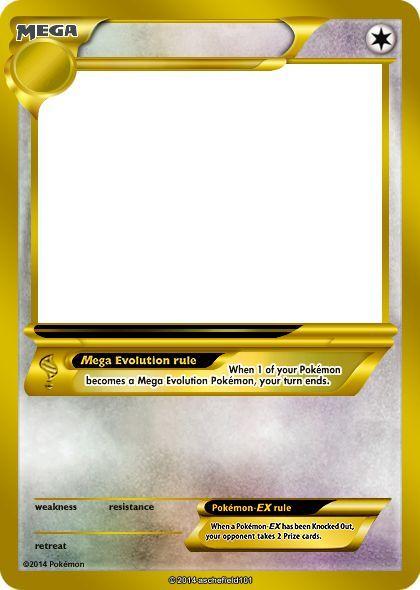 Pokemon GX Template By Waterbeacon by Waterbeacon on DeviantArt