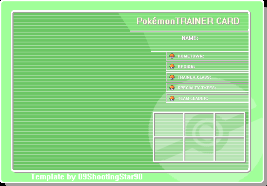 Trainer Card Template:. by ShootingStar03 on DeviantArt